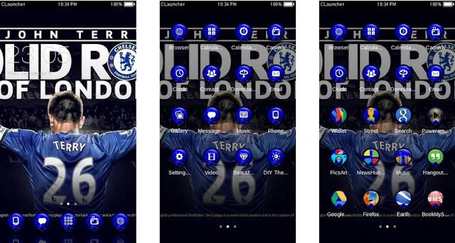 Download Tema Chelsea Android Keren & Gratis - John Terry