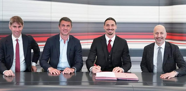 Zlatan Ibrahimovic Signs Extension tо Play аt AC Milan Bеуоnd 40th Birthday