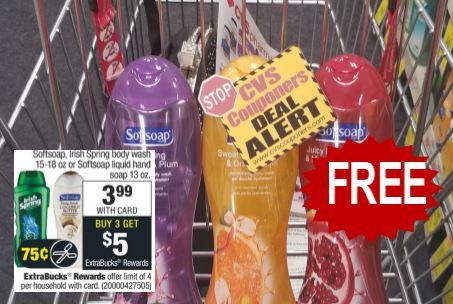 free softsoap cvs deal