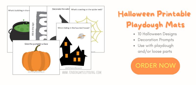 buy halloween playdough mats now