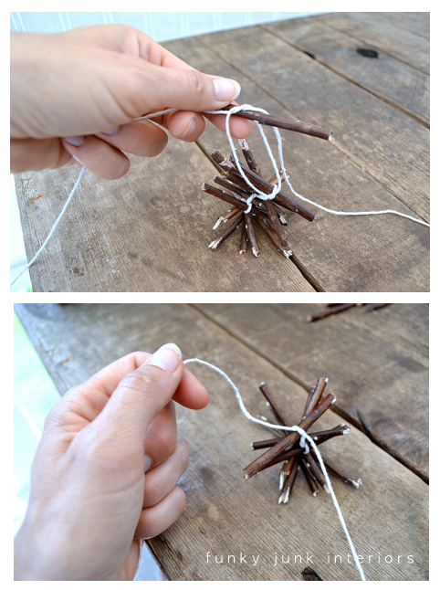 Learn how to make this rustic and charming Christmas garland from twigs... for absolutely free! Great for Christmas decorating or all season. Click to read full tutorial including helpful video!