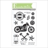 Get Your Motor Runnin 4 x 6 Stamp Set
