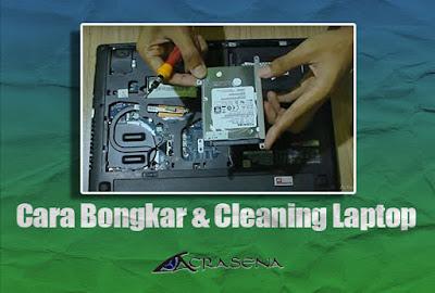 Cara Bongkar dan Cleaning Laptop Lenovo G40-30
