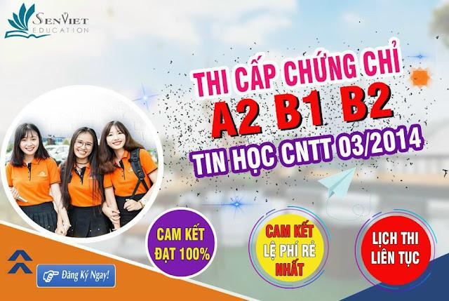 Thông báo tiếp nhận hồ sơ thi Tiếng ANh trình độ B1 Sư Phạm Hà Nội