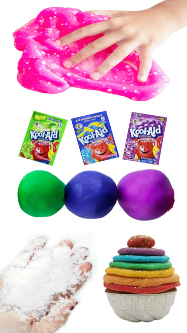 Make play dough using one of these amazing recipes for kids, or try them all! #playdoughrecipe #playdough #playdoughactivities #playdoughrecipesforkids #activitiesforkids #growingajeweledrose