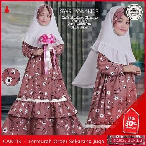 Jual RRJ020P125 Pakaian Anak Perempuan Wanita Ivani Kids Syari BMGShop