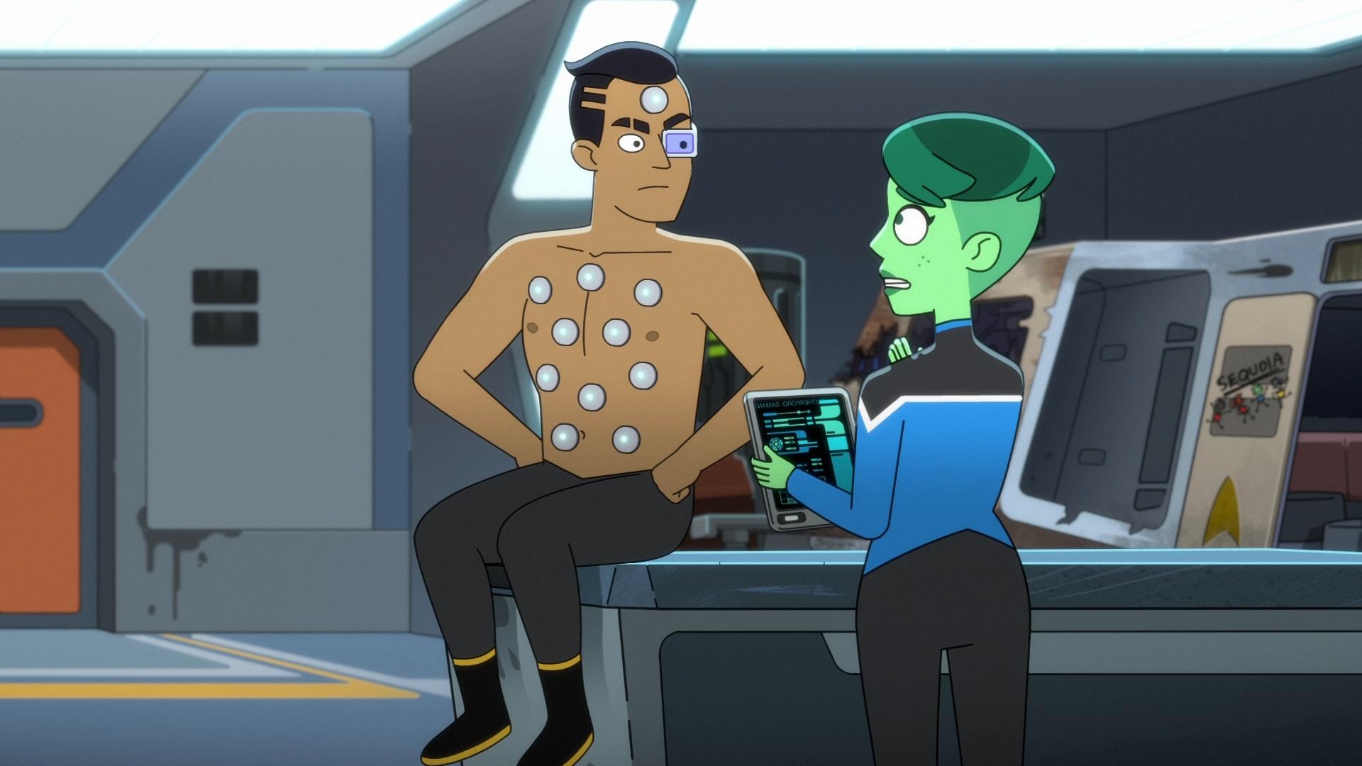Star Trek: Cubiertas inferiores Temporada 2 (2021) 1080p WEB-DL