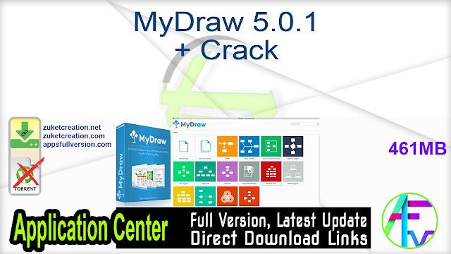 MyDraw 5.0.1 + Crack