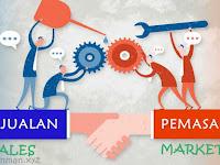 Perbedaan Antara Penjualan (Sales) dan Pemasaran (Marketing)