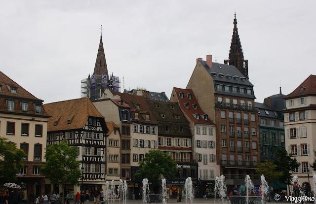 Place Kleber la più importante piazza di Strasburgo