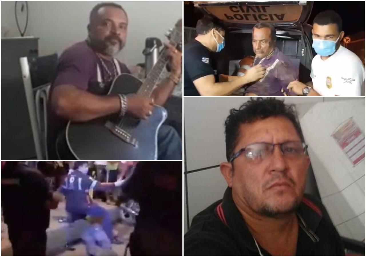 Blog do Gilberto Lima: Músico mata mototaxista a facadas em Imperatriz; assassino é preso duas horas após o crime
