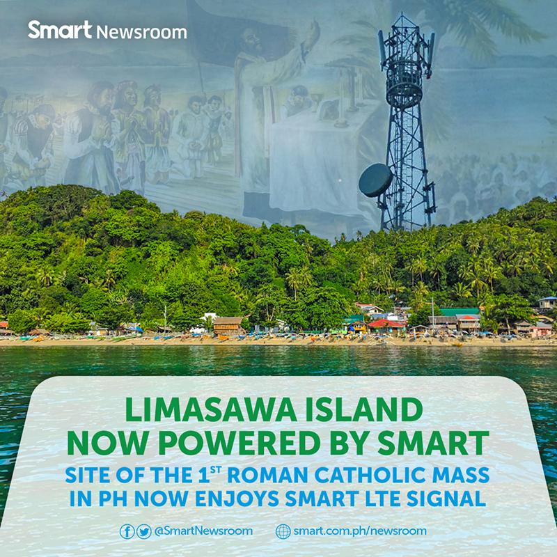 Smart high-speed internet now reach historic island town of Limasawa!