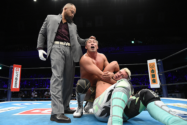 "Novo ""heel turn"" ocorreu no NJPW G1 CLIMAX 30"