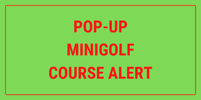 A pop-up event is planned to take place in Salisbury, Wiltshire this summer and will feature a minigolf course
