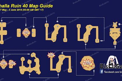 Map Guide VR 27 Mei sampai  3 Juni 2019