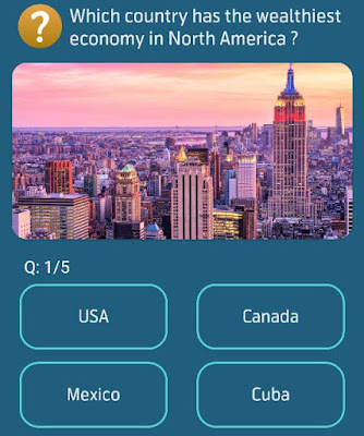 Which country has the wealthiest economy in North America?