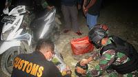 Sinergitas TNIdanBea Cukai Gagalkan Penyeludupan Ganja diPerbatasan RI-PNG
