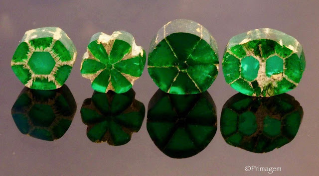 How Does a Trapiche Emerald Form?
