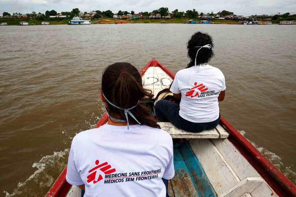 Médicos Sem Fronteiras - Organização apoia equipes locais nas cidades de Tefé e São Gabriel da Cachoeira, contra o Covid-19