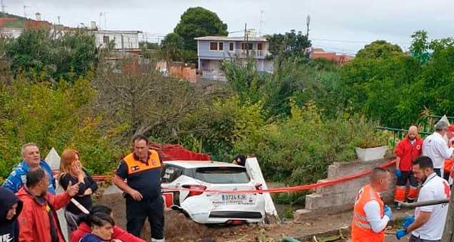 Muere salvando vidas en Rallye La Laguna