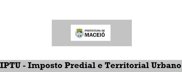 Segunda Via IPTU Maceió-AL