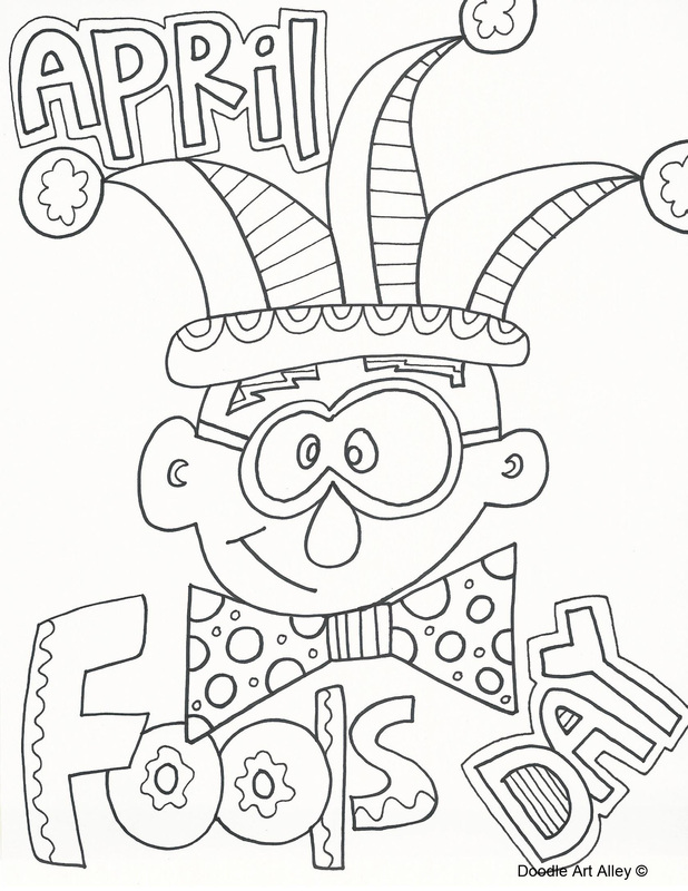 happy april fools day 2017 coloring pages all fools