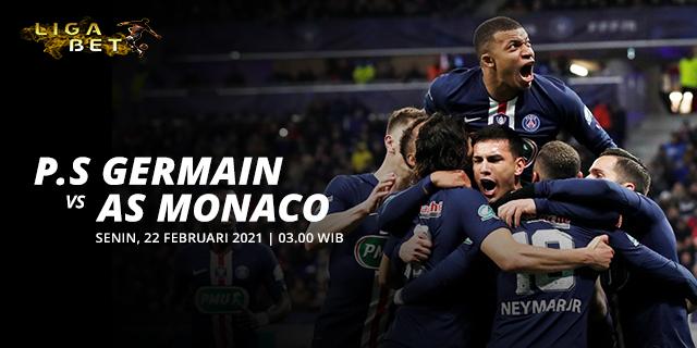 PREDIKSI PARLAY PARIS SAINT GERMAIN VS AS MONACO