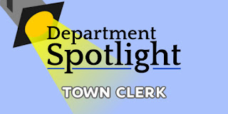 Department Spotlight: Town Clerk
