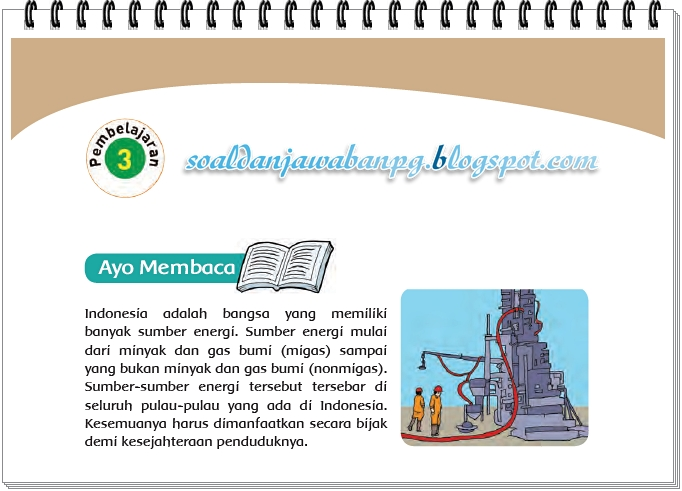 Kunci Jawaban Buku Tematik Kelas 4 Tema 9 Halaman 17 18 19 20