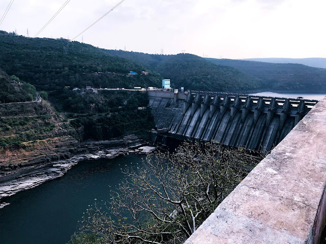 Famous Srisailam Dam-one day trip to srisailam from hyderabad