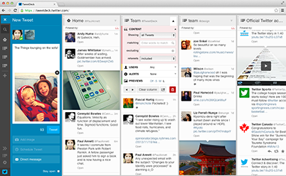 Tweetdeck free and awesome