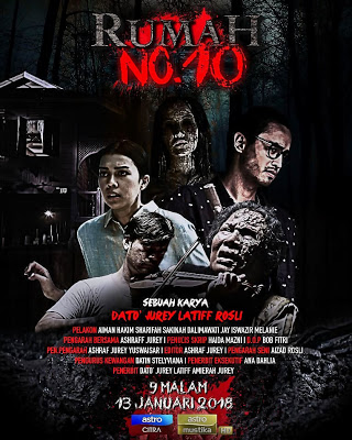 Tonton Telemovie Rumah No 10 Lakonan Aiman Hakim dan Sharifah Sakinah