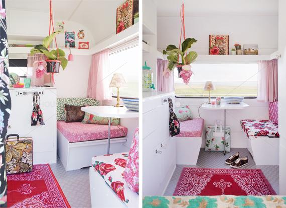 Decorando con buen tiempo caravana vintage decopedia5 y - Interior caravana ...