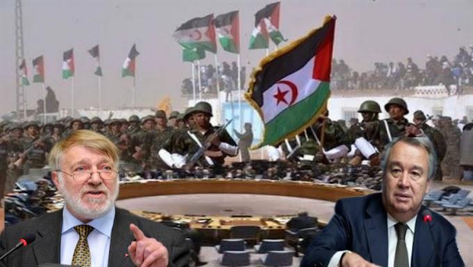 رئيس ''إيكوكو'' يحث الأمين العام للأمم المتحدة على تطبيق المعاهدات ذات الصلة بتصفية الإستعمار لإنهاء الإحتلال المغربي غير الشرعي للصحراء الغربية.