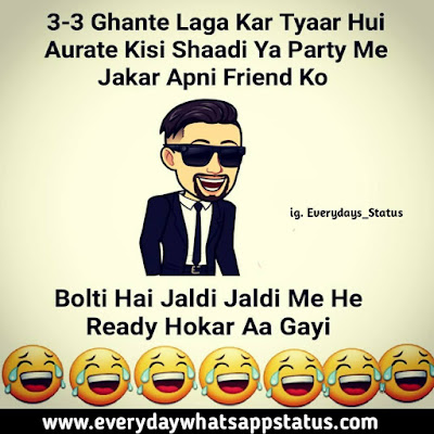 """Comedy Status in Hindi 