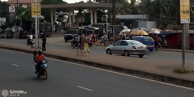 Guinée/Conakry: Marche du FNDC, il est 10 heures aucun leader n'est encore présent 1