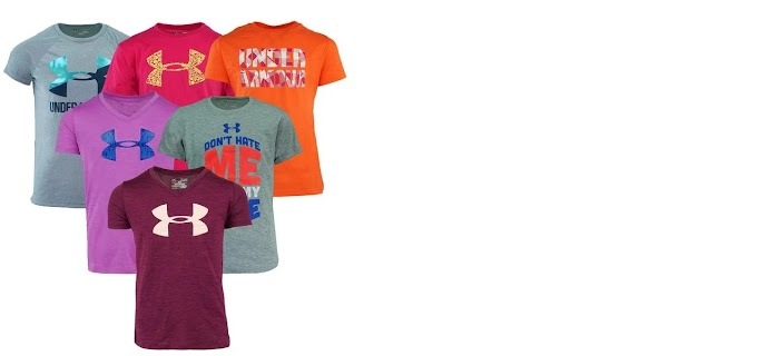 Under Armour Girl's Graphic Mystery T-Shirt