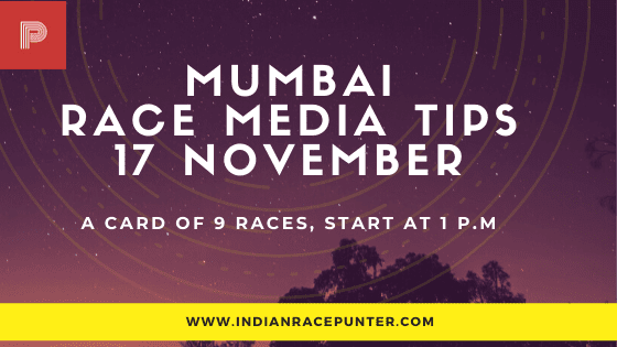Mumbai Race Media Tips,  indiarace,  free indian horse racing tips