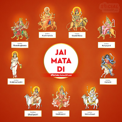Nav Durga Images with Names - 9 Devi images wallpaper