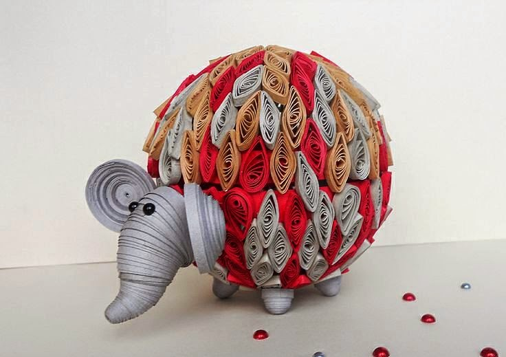 3d Paper Quilling Animal Ideas Creative Art And Craft Ideas