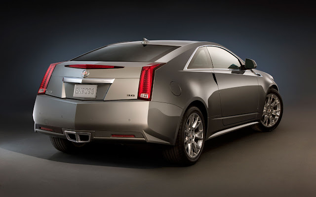 Cadillac CTS Coupe back