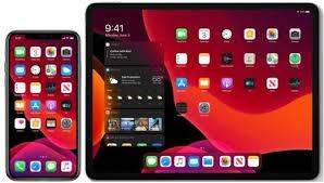 تحديث الايباد الى iPadOS