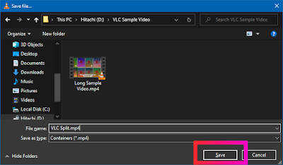 Croben.com  Split Videos In VLC Step 14