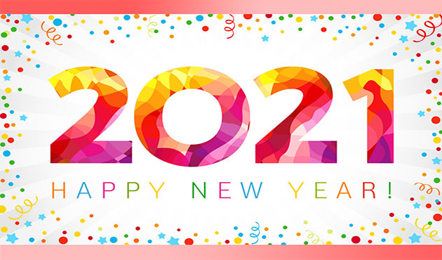 Happy New Year 2021 Love