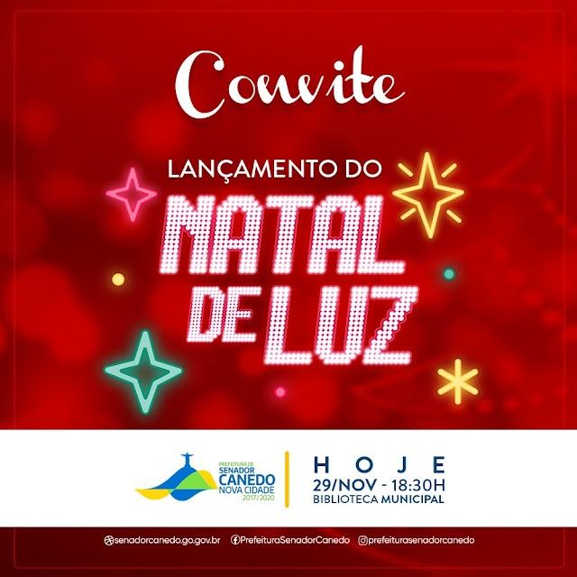 Senador Canedo: Lançamento do Natal de Luz acontece nesta sexta
