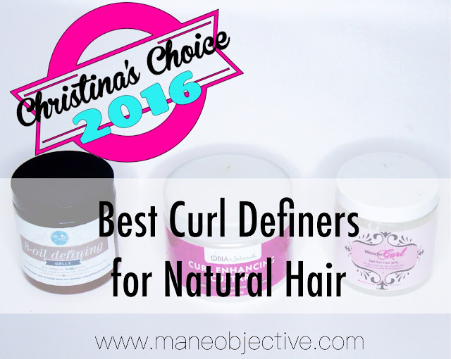 Christina's Choice 2016: Best Curl Definers for Natural Hair