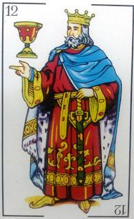 Resultado de imagen para rey de copas naipes