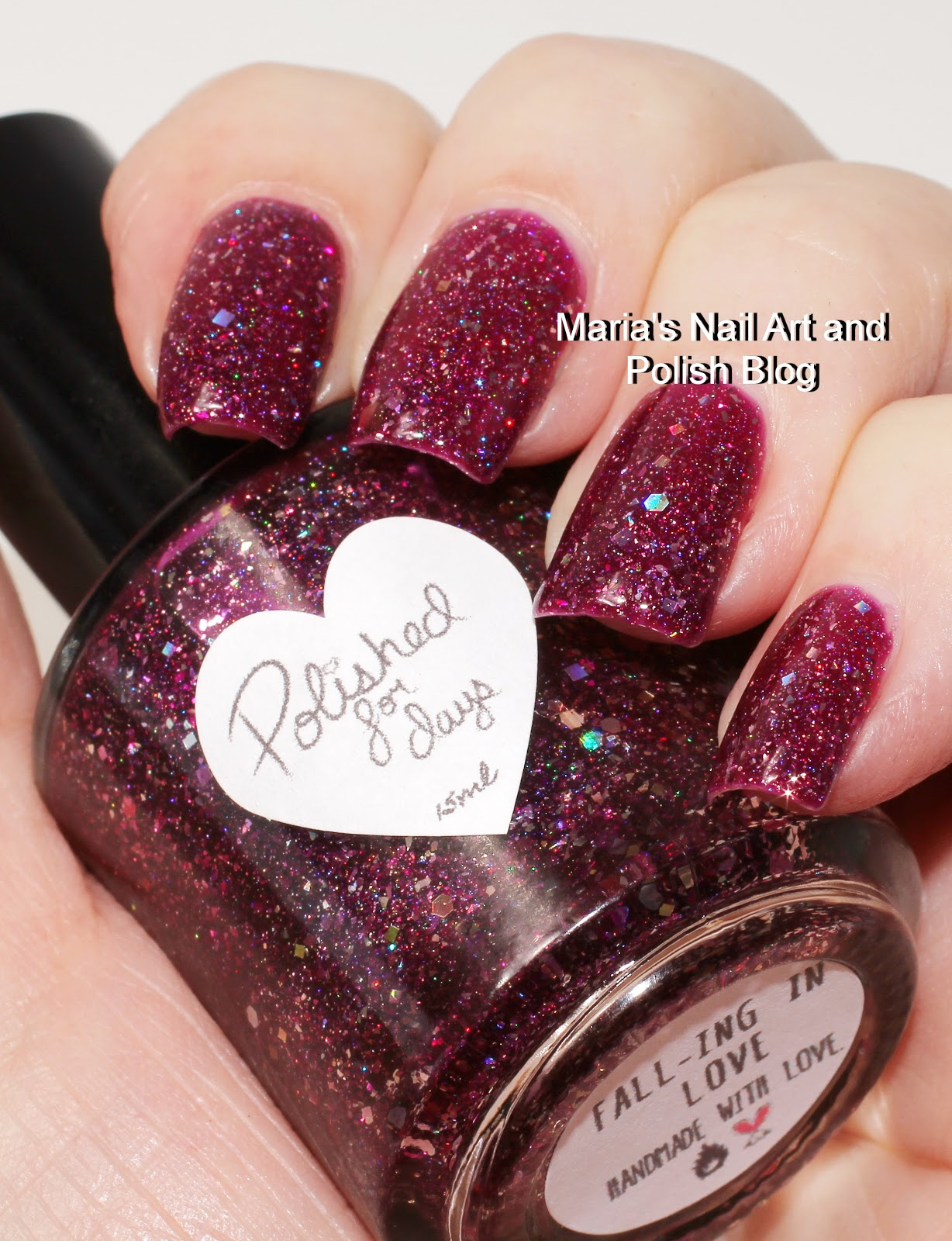 Marias Nail Art and Polish Blog: Polished For Days Fall-ing in Love ...