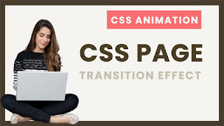 Pure CSS Page Transition Effect