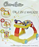 Baby Walker Cocolatte CL-1100 ML 2 IN 1 Walker dan Walk Behin